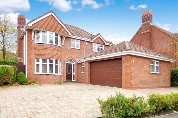 Detached four bedroom home